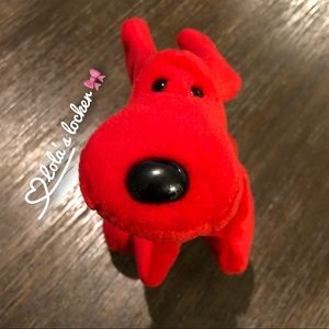 Ty Beanie Babies Rover The Red Dog